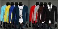 Wholesale Campus style of new fund of autumn winters men sweater v neck cardigan sweater