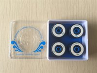 Wholesale 2015 set Professional Element Ceramic Skateboard Bearings Longevity Durability Speed Skate Bearings