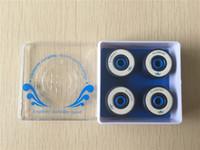 Wholesale 2015 set Professional USA Brand Element Ceramic Skateboard Bearings Longevity Durability Speed Skate Ball Bearings