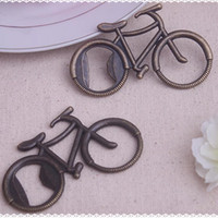 Wholesale Wedding Party Favors Bottle Wine Openers Personalized Bicycle wedding wine stopper favor gift box Europe Style