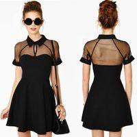 Фигуристки черное платье