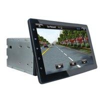 Cheap 10.1 inch HD 1024*600 Quad Core Universal Android 4.4 Car DVD Player Stereo Car Radio GPS Navigation WIFI 3G DVR OBD Mirror Link