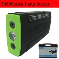 Wholesale Super WUHAI mAh Car jump starter auto vehicle engine booster eps start rechargeable battery power pack supply charger