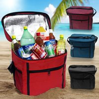 Wholesale 11 L Pinic Bag Lunch bag Ice Cooler Leakproof Hot Cool Refresh Pack Bags Food Storage