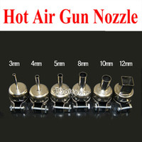Cheap Free shipping 6 sizes high quality BGA SMD universal hot air gun Nozzles Tuyere for 850 852 Saike series etc. 3~12mm Wholesale