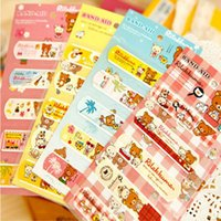 Wholesale New Arrival sheets Cartoon Waterproof Band Aid Bandage Haemostasis Stickers First Aid Supplies sheet