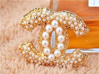 christmas brooch - Hot selling Pearl Brooches For Christmas Women s Exquisite luxury temperament brooches