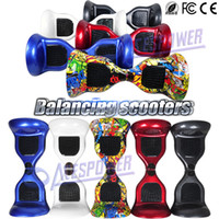 balance boards - 10 Inch Smart Balance Wheel Skywalker Hover Board Two Wheel Unicycle mAh Self Balancing Scooters With Retail Package