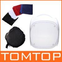 Wholesale Photo Studio soft box Shooting Tent Softbox Cube Box x cm photo light tent portable bag Backdrops