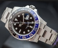 automatic gmt - Hot sale Men s luxury watch fashion brand watches Men s Automatic gmt steel wrist watch ceramic bezel sapphire glass R46