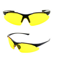 bicycle safety activities - UV100 Biking Sunglasses Safety Eyewear Goggle for Bicycle Riding Open air Activities Universal Yellow order lt no track
