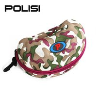Wholesale POLISI Ski Snow Glasses Hard Protective Carrying Case Snowboard Goggles Protection Cover Motorcycle Bike Sunglasses Zipper Box