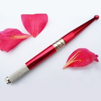 Wholesale Freeshipping Tattoo Permanent Makeup Eyebrow Pen with needle blades colors