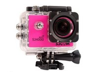 Wholesale Orginal SJCAM SJ4000 WIFI Waterproof Sports Camera Action Cam with P FPS and HD LCD screen