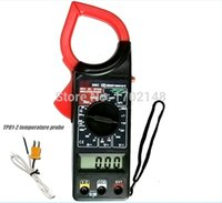 Wholesale Digital clamp meter can measure temperature DT266C