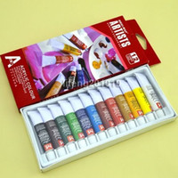 acrylic paint stores - store wingood88 High Quality colors acrylic paints tube set nail art painting drawing tool