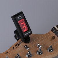 Wholesale ENO Degree Rotatable LCD Portable Mini Electronic Digital Clip on Tuner for Guitar DHL I1692