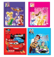 Wholesale Pixar Cars Princess Slide Sliding Puzzles Baby Children Brain Teasers Classic IQ Game Colors Assorted