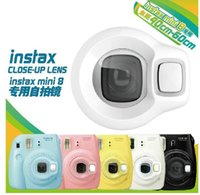 Wholesale Accessories Fuji Polaroid Mirror Close Up Lens mirror mini Polaroid camera Instax mini8 Self Color Filter Lens