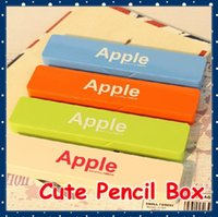 plastic pencil box - FORREST SHOP Office Supplies Kawaii School Stationery Students Plastic Pencil Box For Kids Gift Pen Case FRS