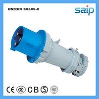venda por atacado cee plug-IP44 CEE / IEC Masculino Plug, 3 Poles 230V 63A International Standard Industrial Plug