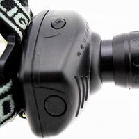 Wholesale Flashlights Linternas Frontales Cabeza New Strong Light Led Zoom Mode Waterproof Headlamp Fishing Riding Headlight Flashlight HeadLamp
