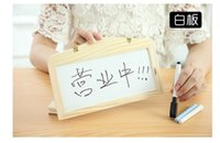 Wholesale Hanging blackboard sets whiteboard Creative children s using Creative gifts toy students practical gift office blackboard