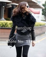 angora black vest - New Women s Faux Fur Vest Sunday Angora Yarns Coat Sleeveless Women s Outerwear Black