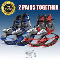 Wholesale 2pairs Kangoo Jumps Fitness Shoes Unisex Kangoo Jumping Shoes Bounce Shoes Jumping Outdoor Sports Outdoor Sports Shoes Skyrunner