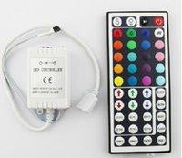 Wholesale 2014 new Cheap V A keys Keys LED Controller IR Remote controller for RGB LED Strip Light SMD SMD