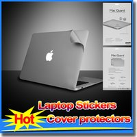 Wholesale 2015 Laptop Stickers Cover protectors for Apple Macbook AIR Protectors for macbook quot Air Pro Retina