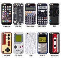 baker case - Soft TPU iphone S Cases Nokia Calculator Camera Gamepad Baker Street Back Cover Case for iphone S plus plus S Factory price