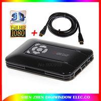 avi hdmi cable - New media tv box Portable USB D Mini P HD Media Player with HDMI AV USB Host SD MMC HDMI Cable