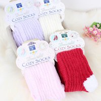 pampers - New Fashion Polyester Winter Cozy Women Boot Fuzzy Socks Leg Warmers For Women s Plus Size Pamper Your Feet In Velvety