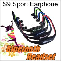 Cheap For Blackberry Bluetooth Wireless Earphone Best Bluetooth Headset Wireless S9 Bluetooth Headphone