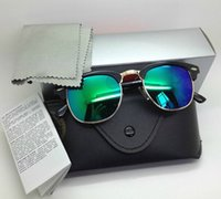 Wholesale 2014 New Style Men s Sunglasses EMS Shipping mixed color order multicolored lens color frame sunglasses gt