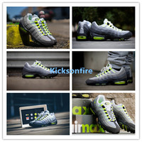 ash leather - Max OG M Neon Black Volt Medium Ash Dark Pewter Men s Sports Running Shoes Men Sneakers Shoe