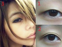 Wholesale Bulk pair bag Breathable Invisible Women Double Eyelid Tape Tools Sticker Beauty Eyes Reflective Stickers