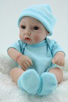 Unisex 3-4 Years Silicone Handmade Alive Baby Dolls Washable 11 Inch Mini Reborn Boy Babies Toy For Kids