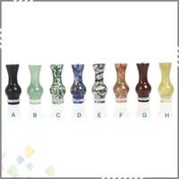 jade - Natural Jade Vase Drip Tip EGO Gourd Drip Tip EGO Atomizer Mouthpieces For CE4 CE5 DCT Vivi Nova EVOD EE2 E Cigarettes