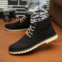 Wholesale New Autumn Spring Summer Men Sneakers Quality Light Casual High Top Fashion Men Shoes Boots Size