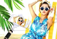 Wholesale SY Fashion Hot monopod Fold Holder Selfi Stick Mini Extendable Handheld For Iphone S Android Camera