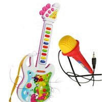 bamboo guitars - New Baby toys Guitar Music Instrument Educational Toy Early Education Toys Electronic Children gifts