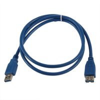 Wholesale Extender Cable USB3 CABLE SuperSpeed Extension Cable A Male to A Female CABLE USB3