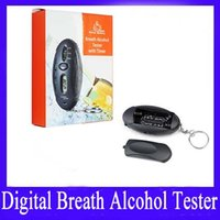 Wholesale Alcohol monitor Digital Breathalyzer With Timer
