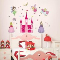 art hospitals - bedroom decoration The new wall stickers DIY Korean manufacturers Children s Hospital classrooms princess castle home decor stickers AY833