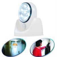 outdoor motion detector - 2Set Light Angel White LED Light Lamp PIR Auto Sensor Motion Detector Light Motion Sensor lights For Indoor Outdoor Light