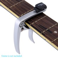 banjo parts - Alice High Quality Guitar Capo Zinc Alloy with Plectrum Holder for Acoustic and Electric Guitar Banjo and Mandolin Guitar Parts DHL I1022