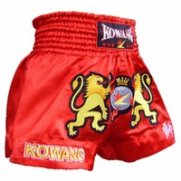 Wholesale Mens Muay Thai Fight Shorts Cage MMA Grappling Boxing Shorts