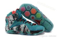 Wholesale 2014 LEBRON XI MVP Men s Basketball Shoes What The Lebron Men New Style Sneakers Size Christmas Gift